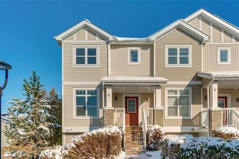 Townhouse for sale at 300 Evanscreek Ct Northwest Unit 4 Calgary Alberta - MLS: C4272779