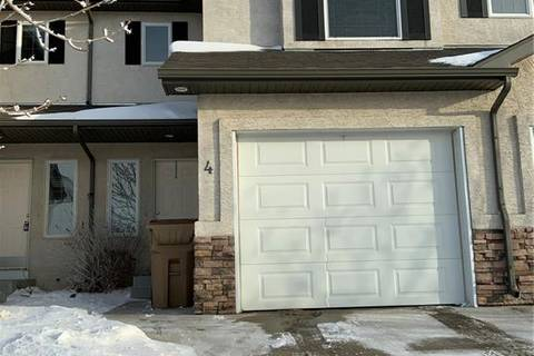 Townhouse for sale at 3101 Tregarva Dr E Unit 4 Regina Saskatchewan - MLS: SK797811