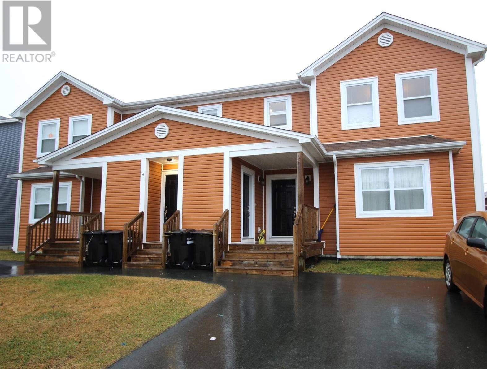 House for sale at 4 Guernsey Pl Unit 4 St. John's Newfoundland - MLS: 1208942