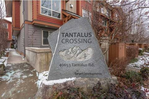 Townhouse for sale at 40653 Tantalus Rd Unit 4 Squamish British Columbia - MLS: R2444909