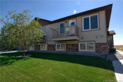 Townhouse for sale at 4426 Lake Dr Unit 4 Coalhurst Alberta - MLS: LD0159341