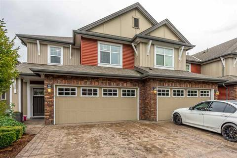 Townhouse for sale at 45762 Safflower Cres Unit 4 Sardis British Columbia - MLS: R2413371