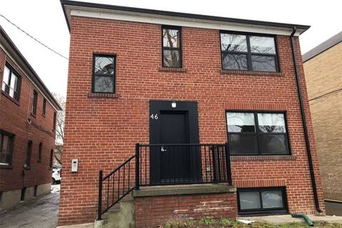 Townhouse for rent at 46 Cavell Ave Unit 4 Toronto Ontario - MLS: W4664389
