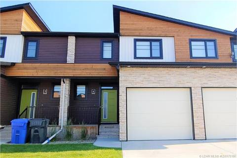 Townhouse for sale at 462 Highlands Blvd W Unit 4 Lethbridge Alberta - MLS: LD0175186