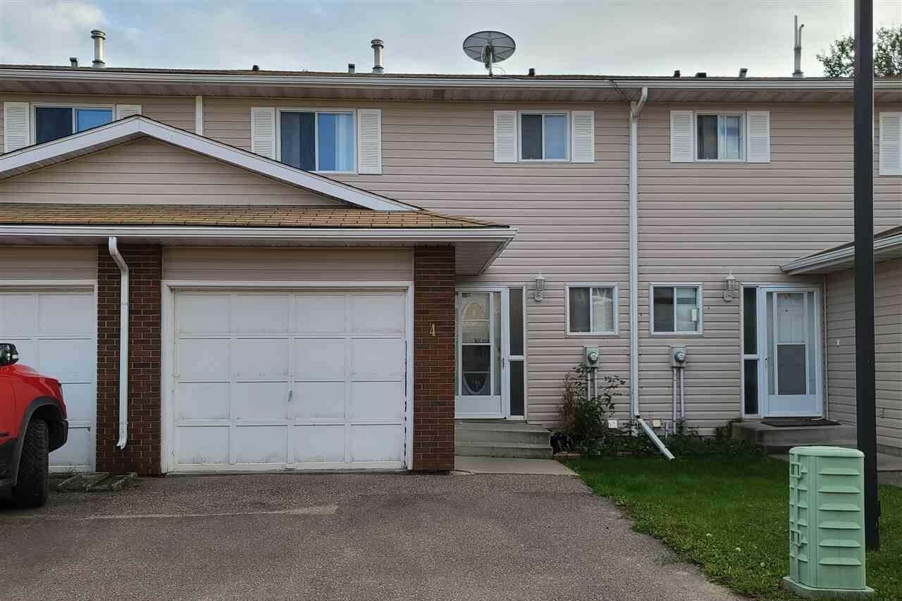 Townhouse for sale at 5310 57a St Unit 4 Cold Lake Alberta - MLS: E4194006