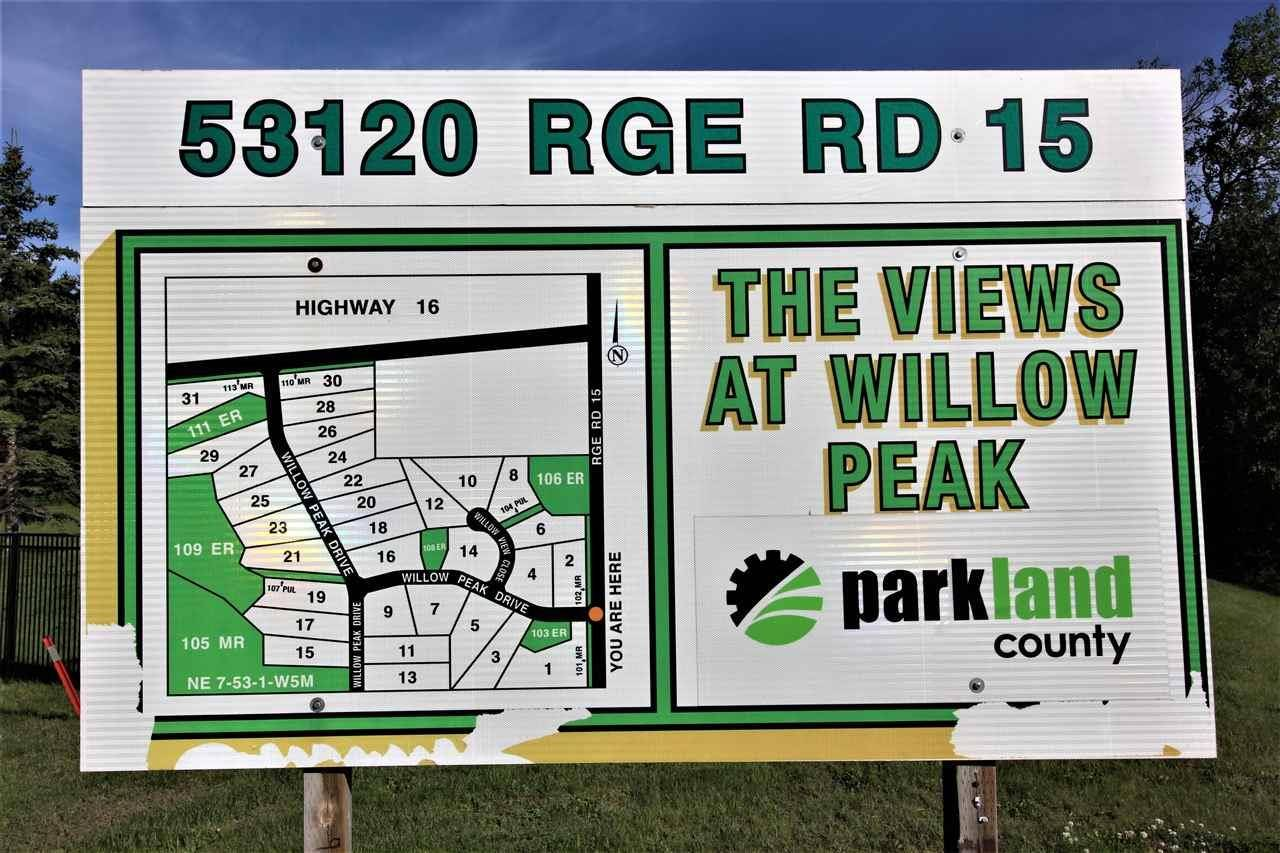 Residential property for sale at 53120 Rge Rd Unit 4 Rural Parkland County Alberta - MLS: E4167484