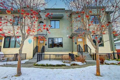 Townhouse for sale at 535 33 St Northwest Unit 4 Calgary Alberta - MLS: C4282479