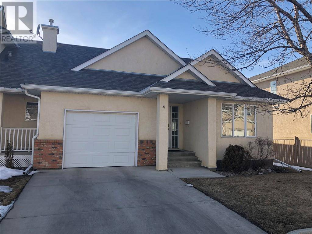 Townhouse for sale at 565 Highlands Blvd W Unit 4 Lethbridge Alberta - MLS: ld0191426