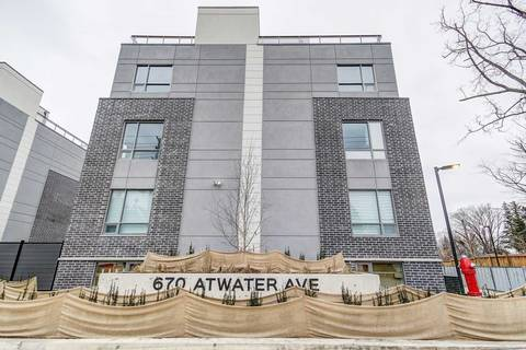 Apartment for rent at 670 Atwater Ave Unit 4 Mississauga Ontario - MLS: W4679114
