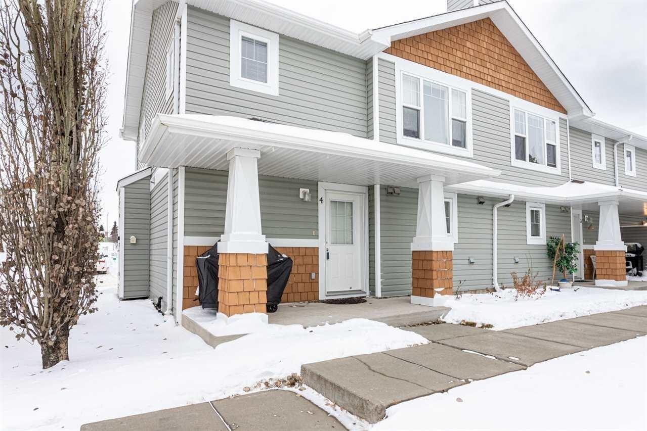 Townhouse for sale at 70 Cavan Rd Unit 4 Sherwood Park Alberta - MLS: E4209915