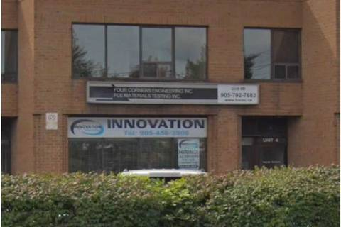 Commercial property for lease at 70 Delta Park Blvd Apartment 4 Brampton Ontario - MLS: W4646505