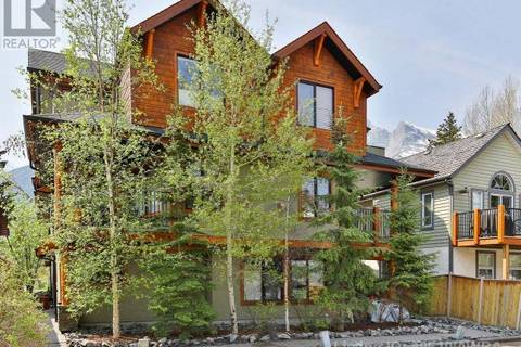 Townhouse for sale at 722 3rd St Unit 4 Canmore Alberta - MLS: 49610