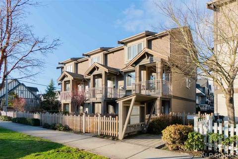 Townhouse for sale at 7400 Heather St Unit 4 Richmond British Columbia - MLS: R2431954