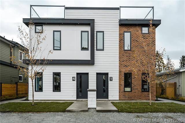 Townhouse for sale at 797 Burne Ave Unit 4 Kelowna British Columbia - MLS: 10195080