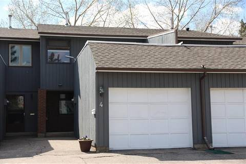 Townhouse for sale at 803 Varsity Estates Dr Northwest Unit 4 Calgary Alberta - MLS: C4235392