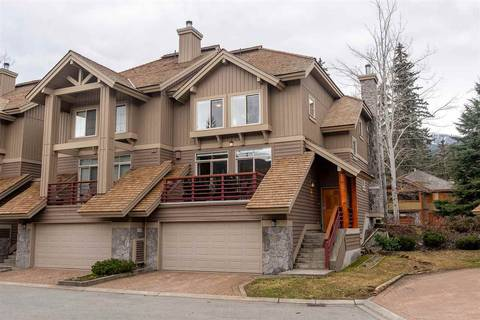 Townhouse for sale at 8030 Nicklaus North Blvd Unit 4 Whistler British Columbia - MLS: R2423949
