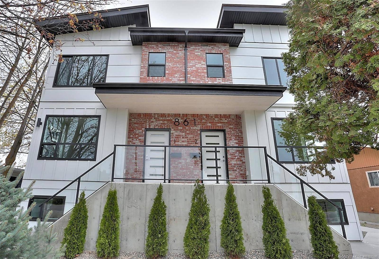 Townhouse for sale at 861 Rose Ave Unit 4 Kelowna British Columbia - MLS: 10197598
