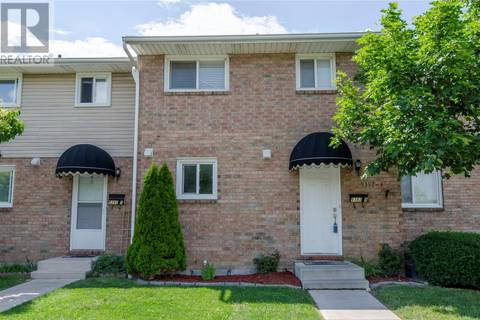 Townhouse for sale at 9392 Esplanade  Unit 4 Windsor Ontario - MLS: 19021296