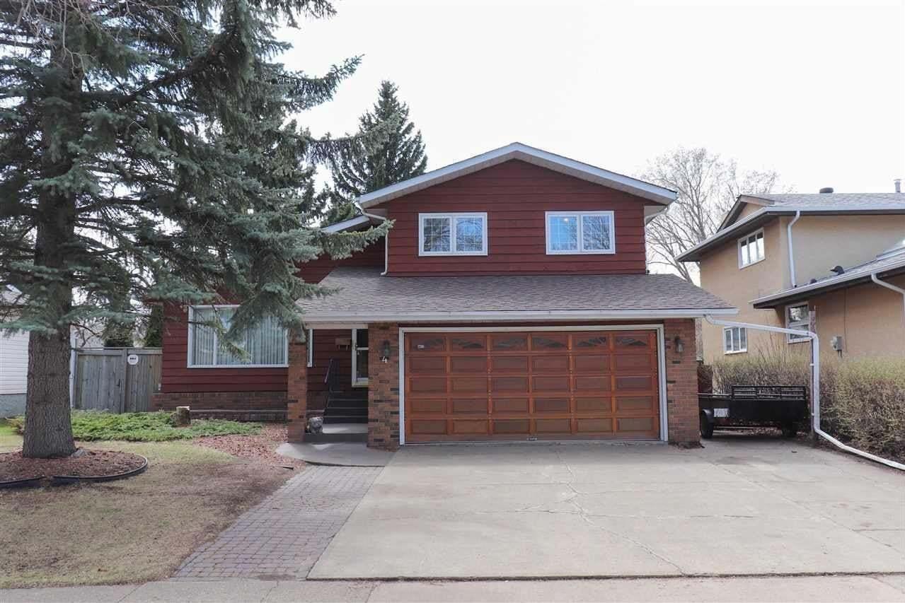 House for sale at 4 Arbor Cr St. Albert Alberta - MLS: E4196475