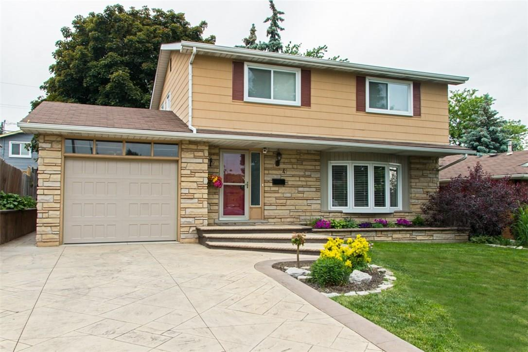 For Sale: 4 Bonaventure Drive, Hamilton, ON | 4 Bed, 2 Bath House for $589,000. See 2 photos!