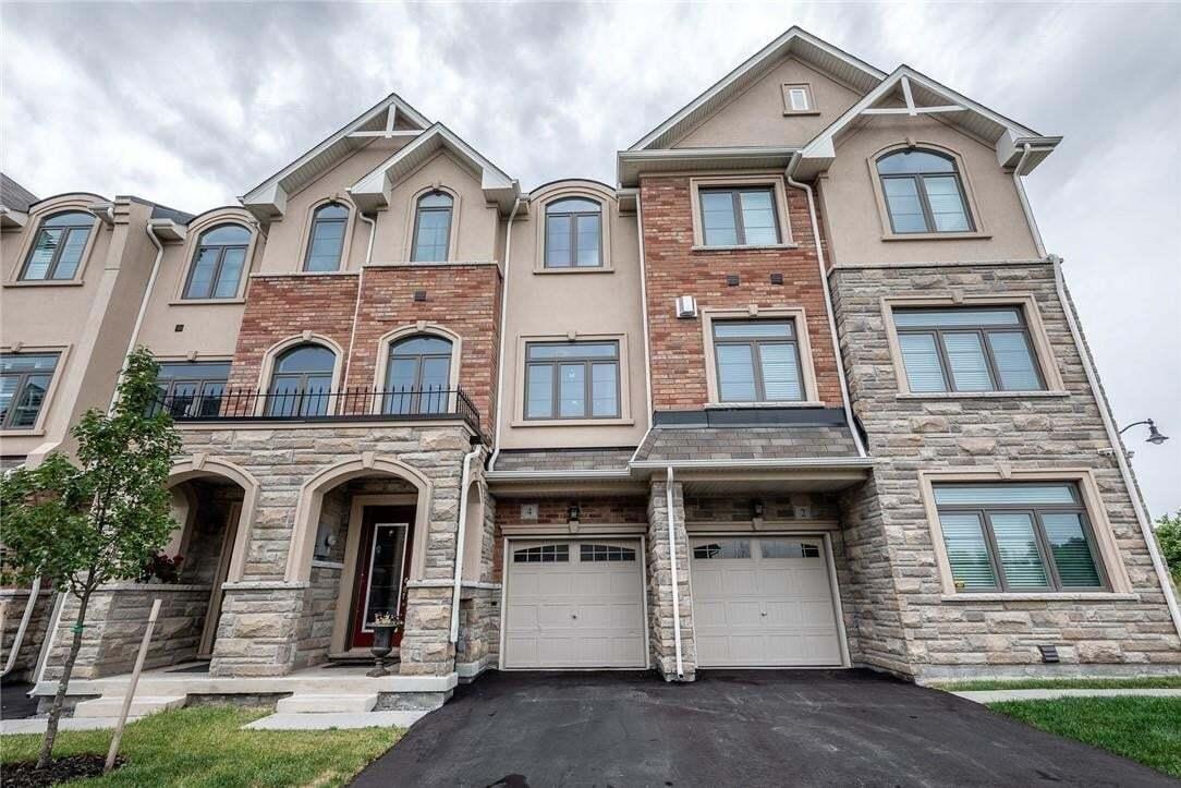 Townhouse for sale at 4 Borers Creek Circ Waterdown Ontario - MLS: H4082265