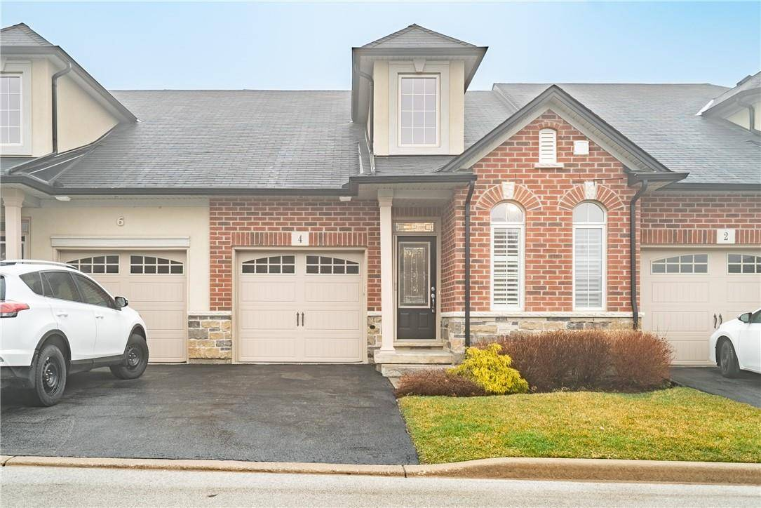 Townhouse for sale at 4 Burgundy Gr Ancaster Ontario - MLS: H4075973
