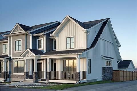 Townhouse for sale at 4 D'arcy Blvd Okotoks Alberta - MLS: C4265881