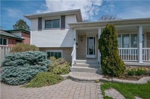 House for rent at 4 Delverton Pl Toronto Ontario - MLS: C4557530