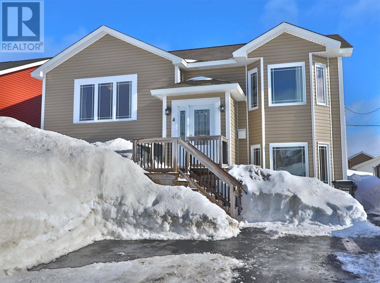 House for sale at 4 Duke St St. John's Newfoundland - MLS: 1211380