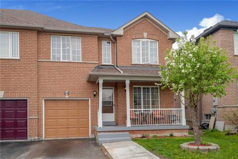 Townhouse for sale at 4 Flatlands Wy Brampton Ontario - MLS: W4462304