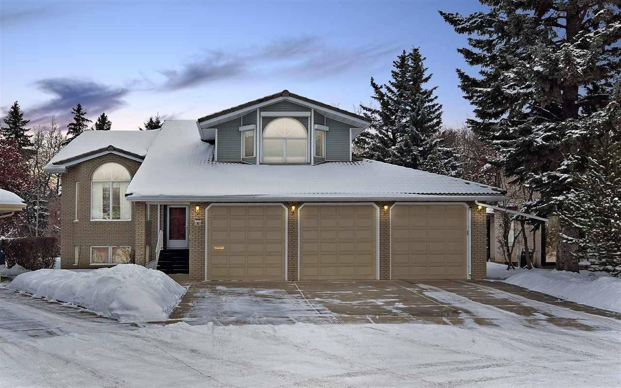 House for sale at 4 Gentry Ct St. Albert Alberta - MLS: E4186299