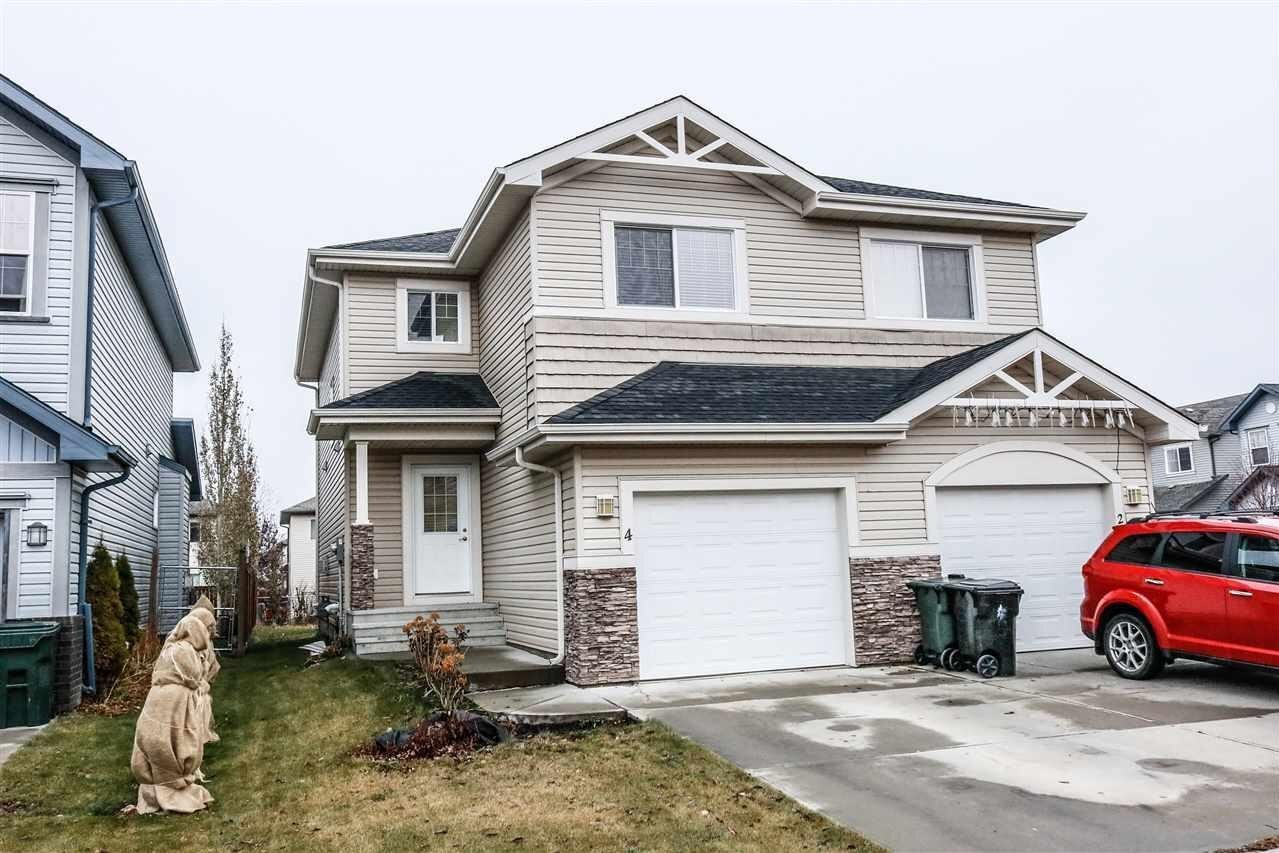 Townhouse for sale at 4 Hartwick Me Spruce Grove Alberta - MLS: E4219911