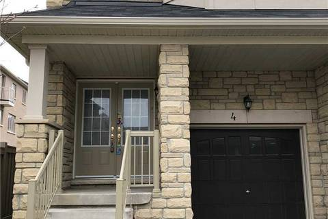Townhouse for rent at 4 Hobart Gdns Brampton Ontario - MLS: W4632884