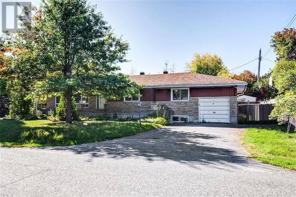 House for sale at 4 Horner Dr Ottawa Ontario - MLS: 1172218
