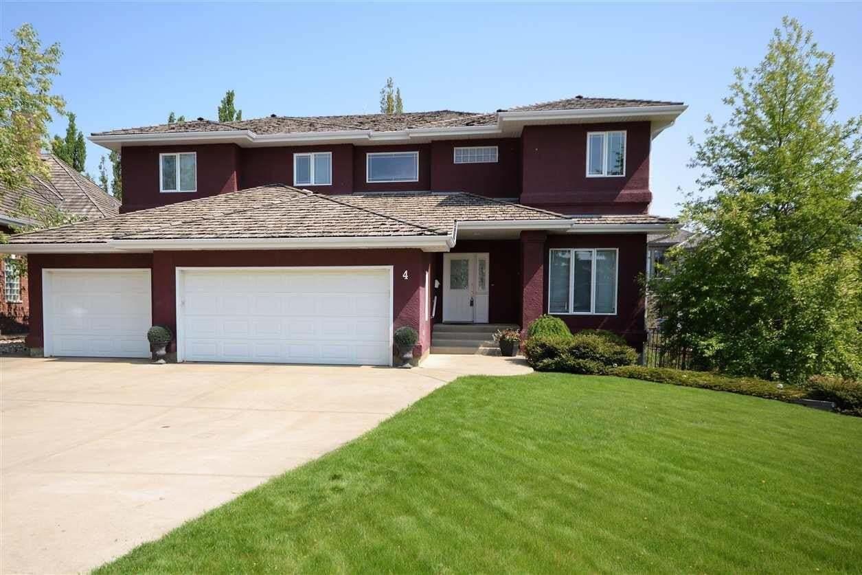House for sale at 4 Kastle Pt St. Albert Alberta - MLS: E4191852