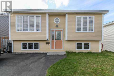 House for sale at 4 Mcgrath Cres Mount Pearl Newfoundland - MLS: 1196907