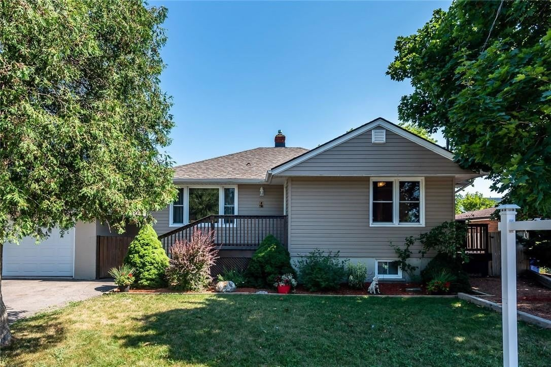 House for sale at 4 Myrtle Ave St. Catharines Ontario - MLS: H4083374