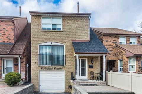 House for sale at 4 Norbrook Cres Toronto Ontario - MLS: W4410304