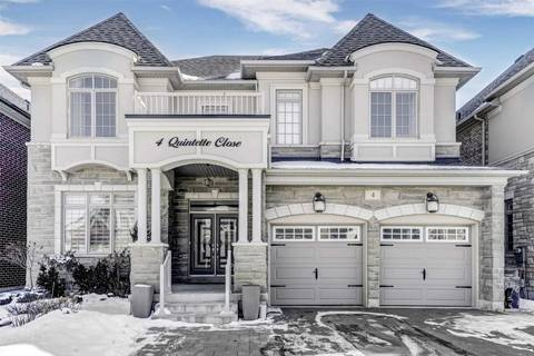 House for sale at 4 Quintette Clse Brampton Ontario - MLS: W4693375