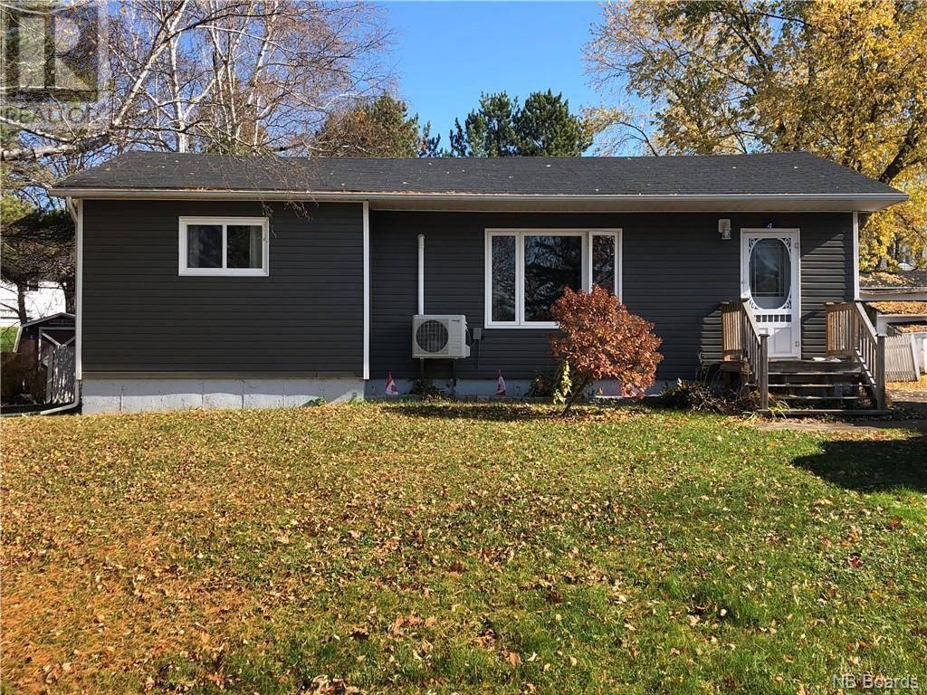 House for sale at 4 Russet Cres Florenceville-bristol New Brunswick - MLS: NB036405