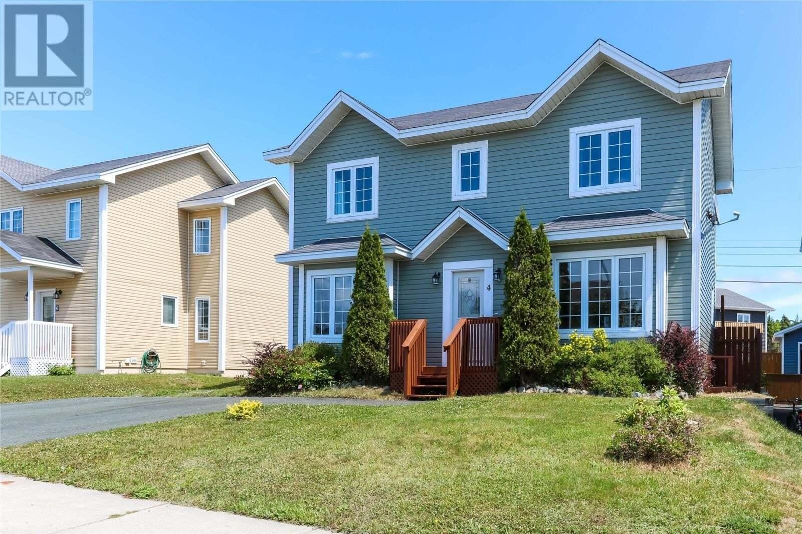 House for sale at 4 Sedgewick St Paradise Newfoundland - MLS: 1217628