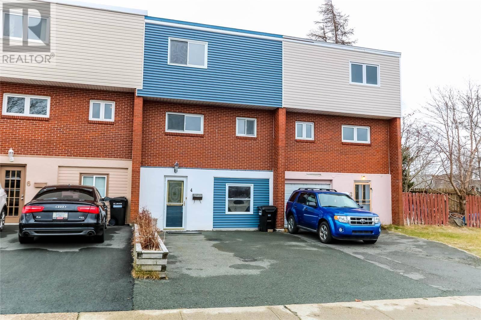 House for sale at 4 Steer St St. John's Newfoundland - MLS: 1209007