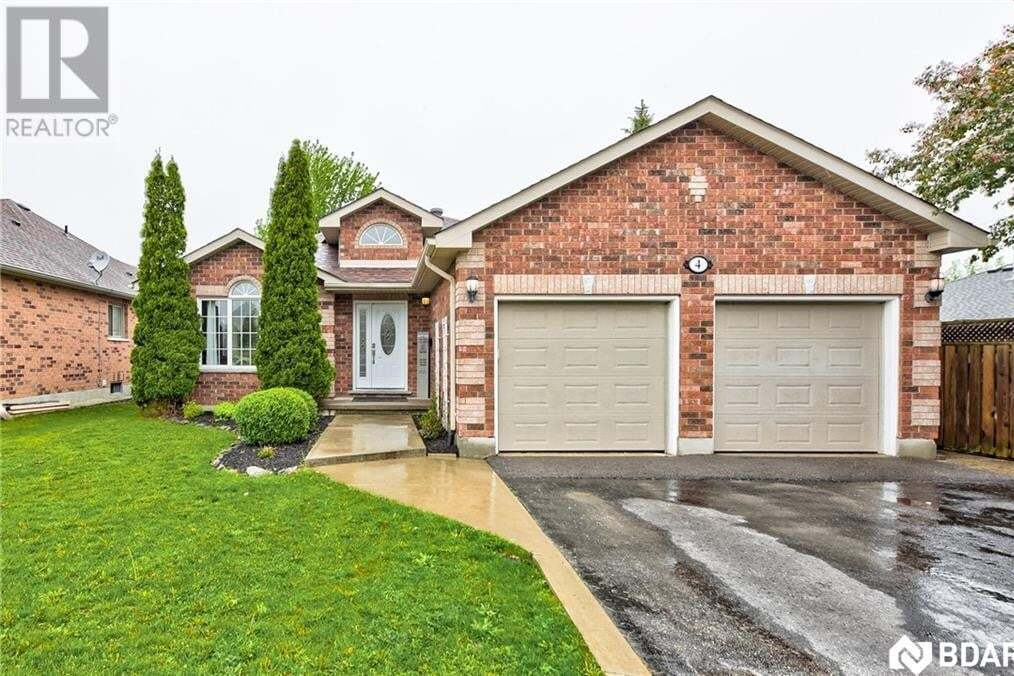 House for sale at 4 Summerset Dr Barrie Ontario - MLS: 30809724