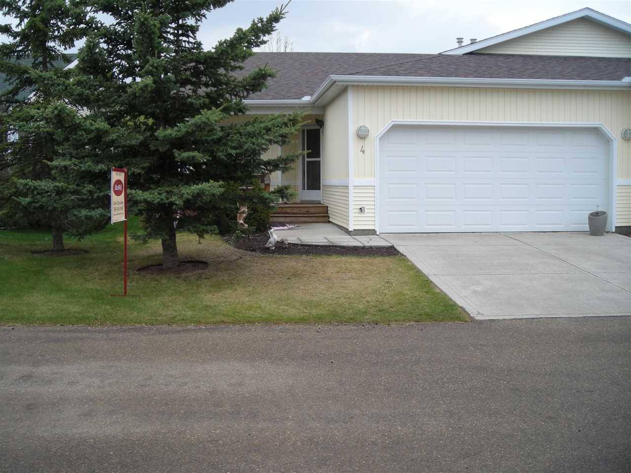 Townhouse for sale at 4 Village Ln Rural Wetaskiwin County Alberta - MLS: E4103133