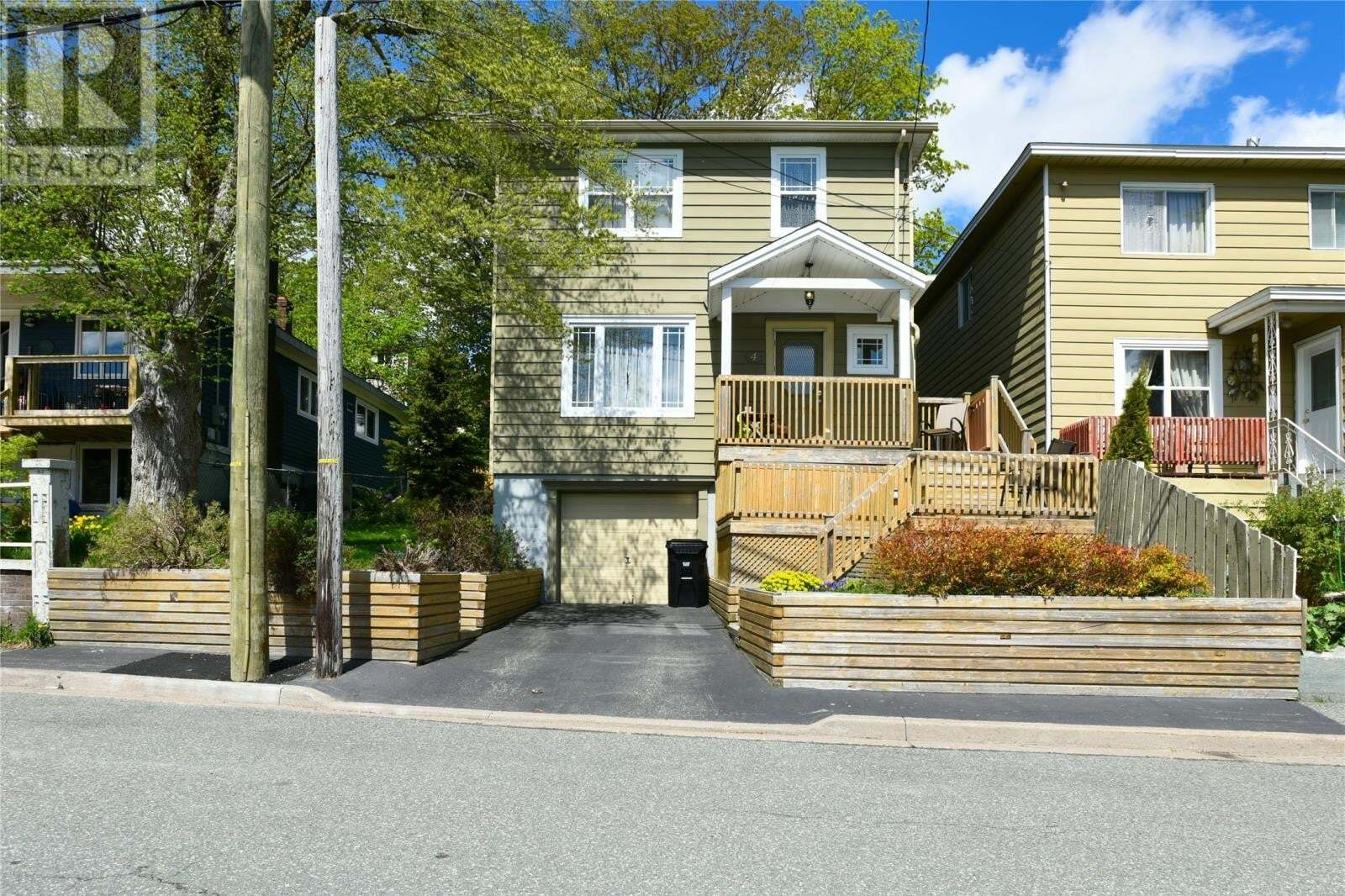 House for sale at 4 Warbury St St. Johns Newfoundland - MLS: 1214677