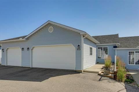 Townhouse for sale at 105 Elm Pl Unit 40 Okotoks Alberta - MLS: C4263144