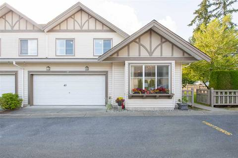 Townhouse for sale at 15868 85 Ave Unit 40 Surrey British Columbia - MLS: R2347291