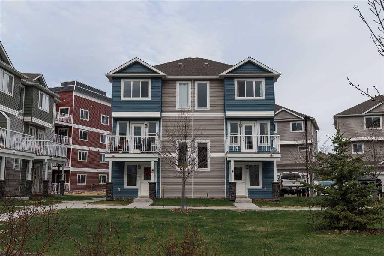Townhouse for sale at 1816 Rutherford Rd Sw Unit 40 Edmonton Alberta - MLS: E4161979