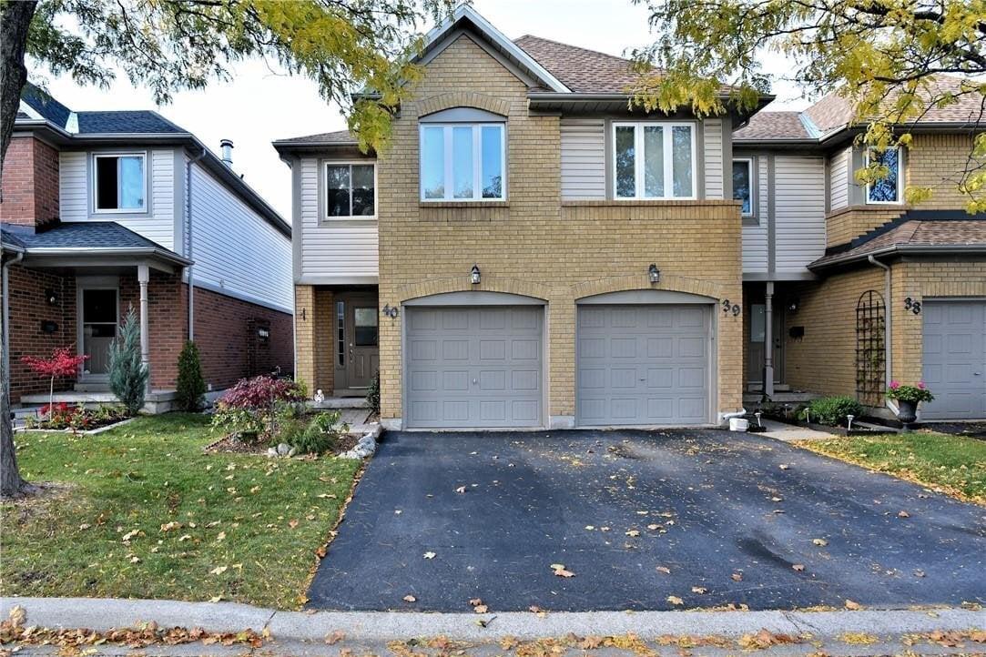 Townhouse for sale at 2920 Headon Forest Dr Unit 40 Burlington Ontario - MLS: H4091545