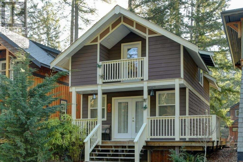 Home for sale at 2970 Glen Eagles Rd Unit 40 Shawnigan Lake British Columbia - MLS: 423684